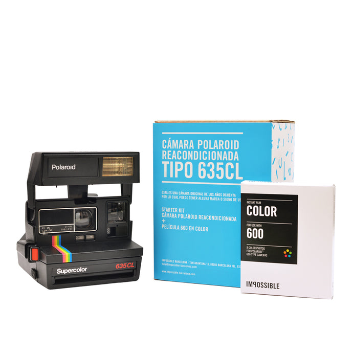 Pack Polaroid 635CL