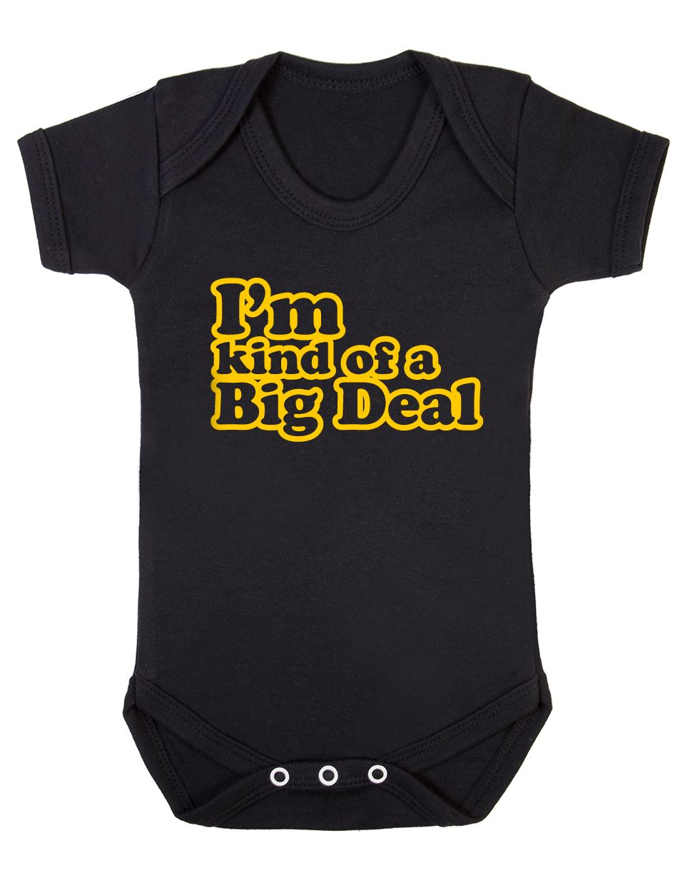 Im Kind of A Big Deal Short-Sleeves Shirts Baby Boy Toddlers