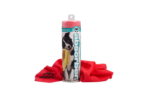The Absorber® Dog Lover's Towel 17 in. x 27 in. size