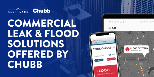 Alert Labs Commercial Leak and Flood Solutions to be offered by Chubb