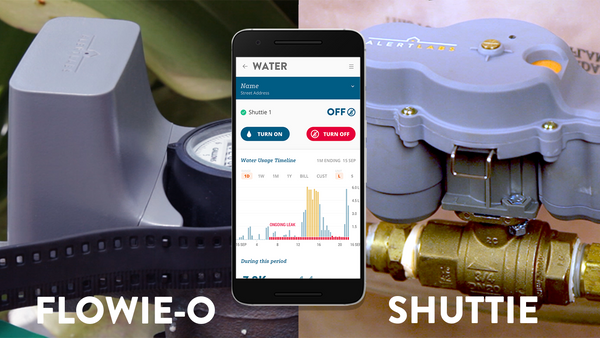 Alert Labs Expands Water Tech with Flowie-O & Shuttie Saving Water & Damage