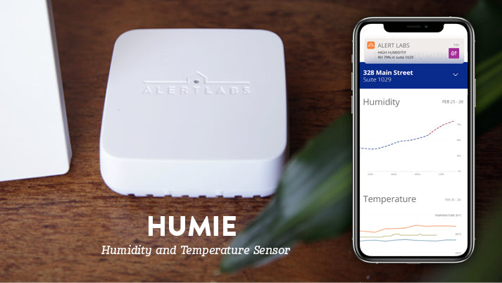 New Alert Labs solution remotely monitors for changes in humidity