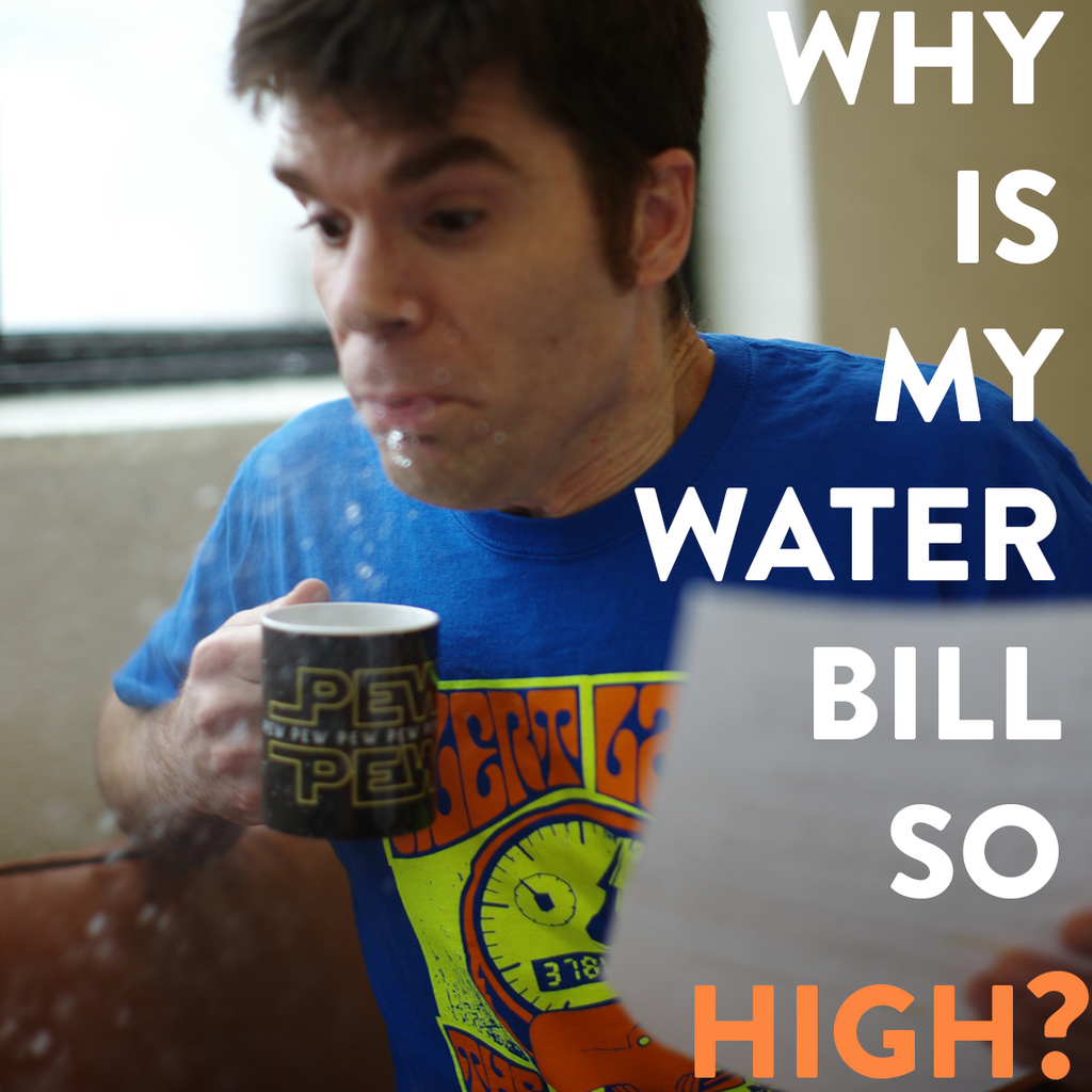 Why is My Water Bill So High? 10 Possible Causes