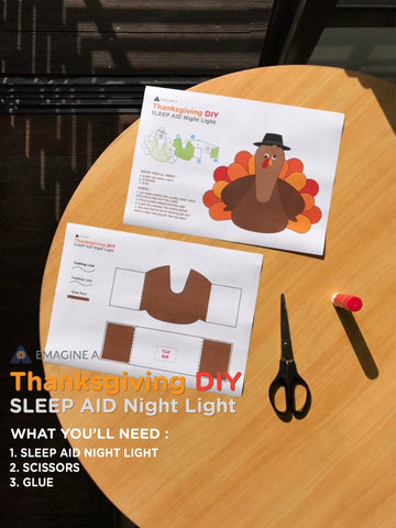 emagine A Turkey Light DIY step1