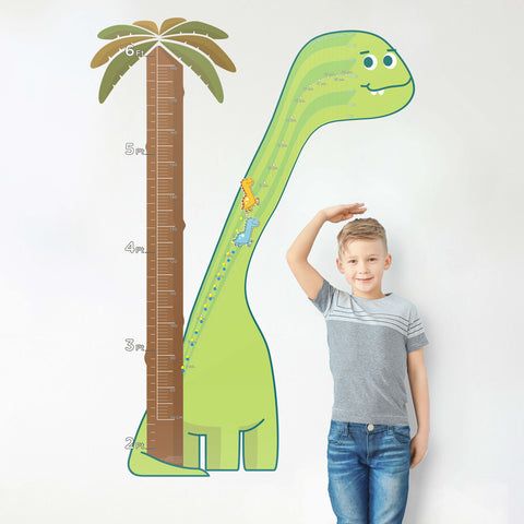 emagine A kids growth charts boys dinosaur decor