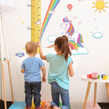 Watch Me Grow Unicorn Growth Chart for Girls