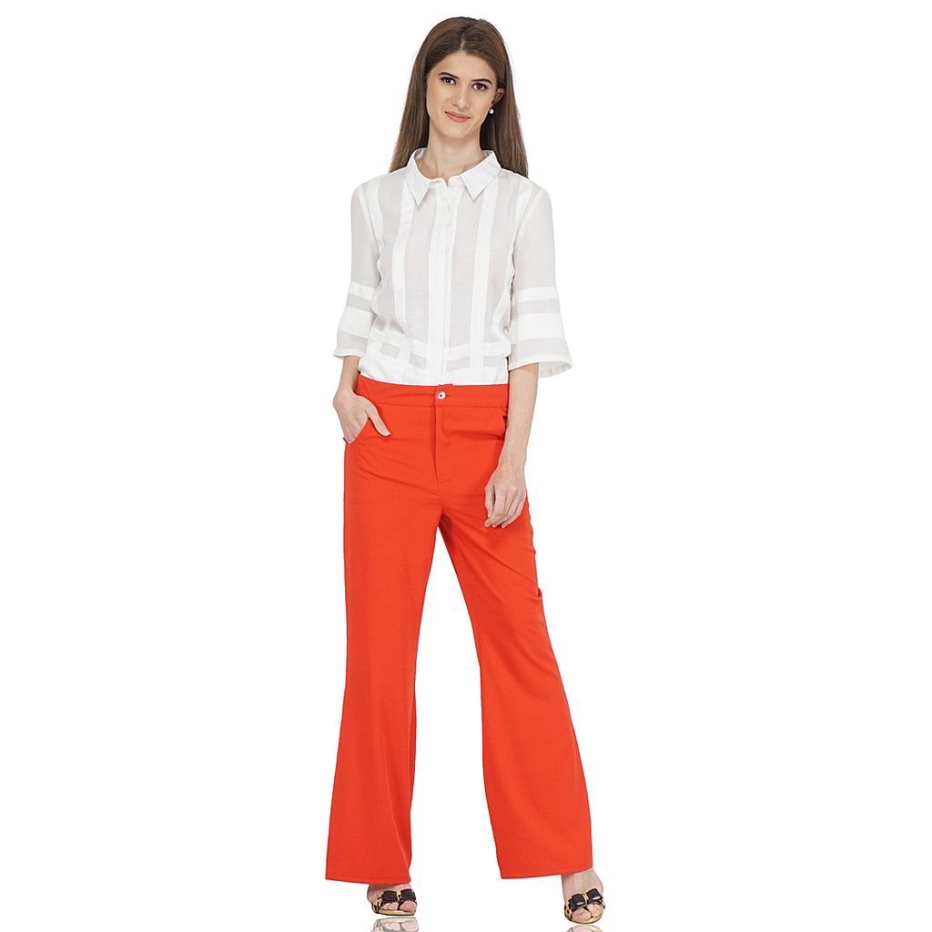 Bell Bottom Statement Pants