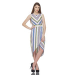 Directional Striped Dress