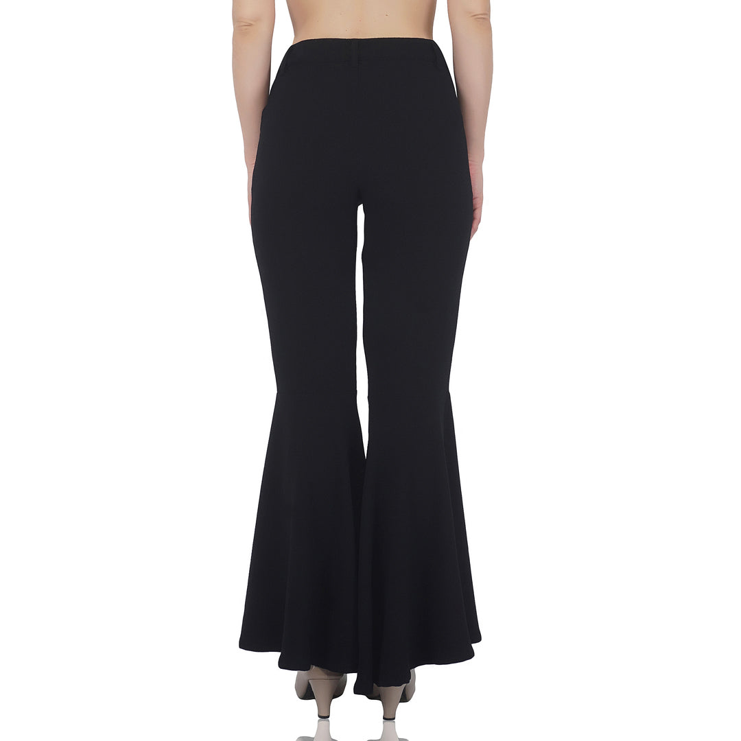 Flared Bottom Trousers