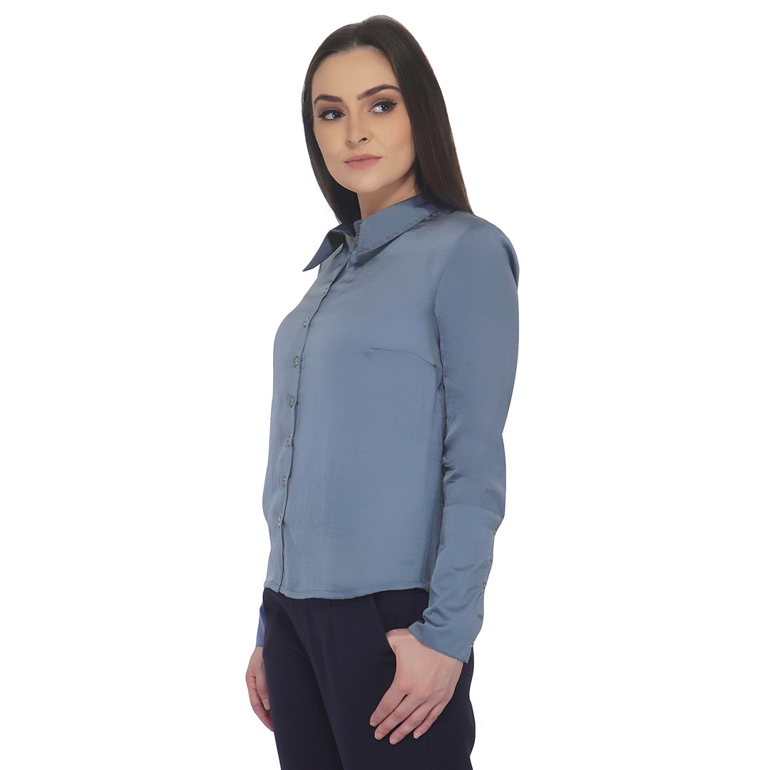 Broad Cuff Formal Shirt
