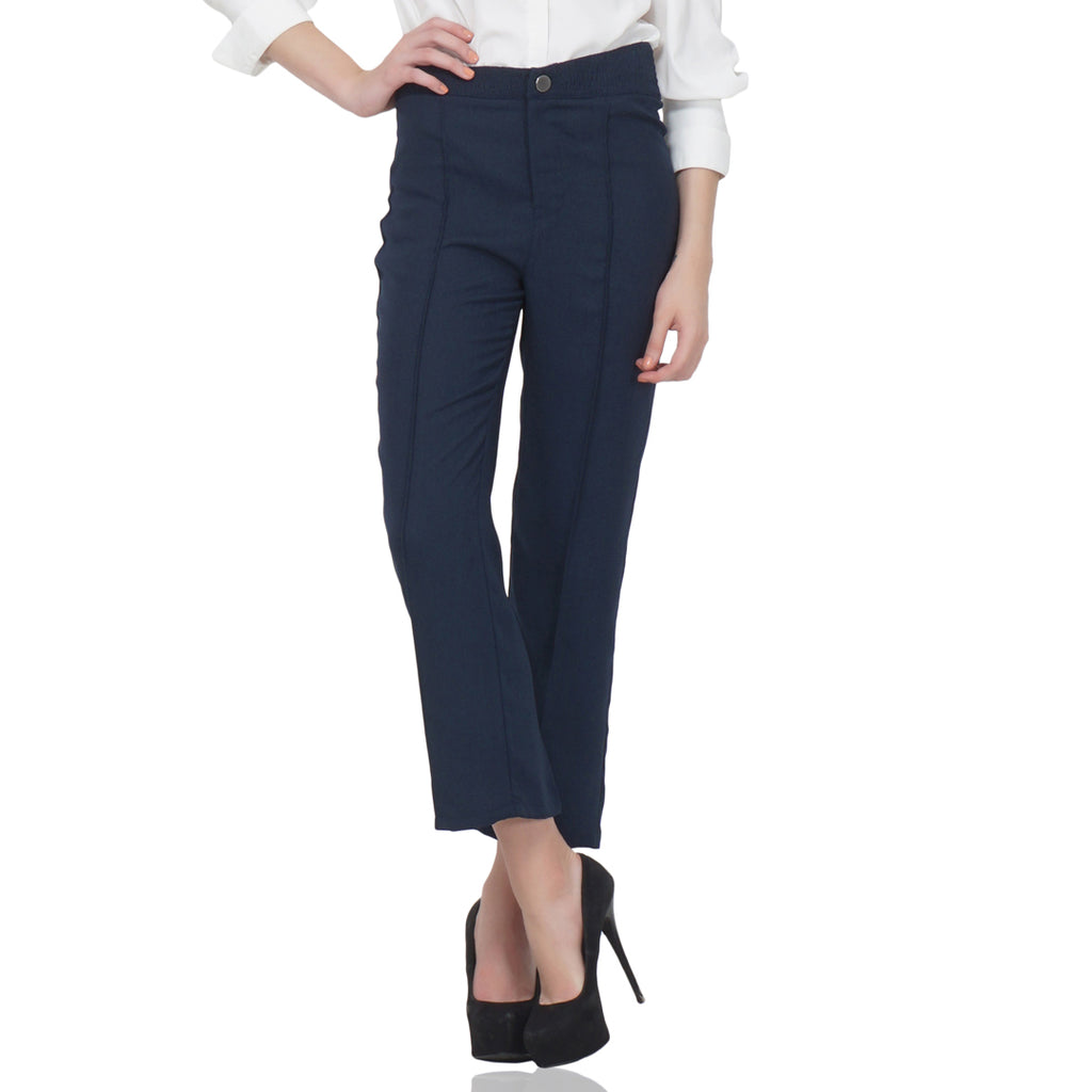 Straight Fit Formal Trousers