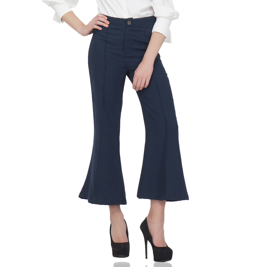 Wide Legged Formal Trousers