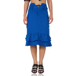 Highwaist Pocket Midi Skirt