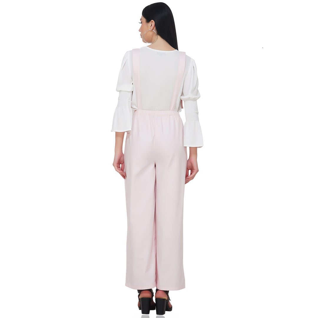 Suspended Pink Jumpsuit