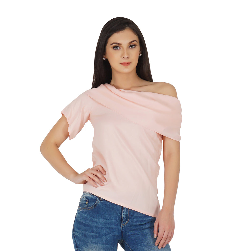Drop Shoulder Drape Top