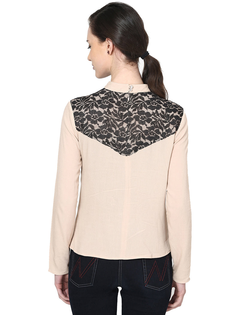 Lace Cover Top