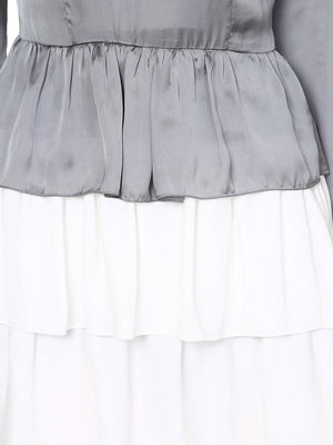 Three Layer Frilly Dress