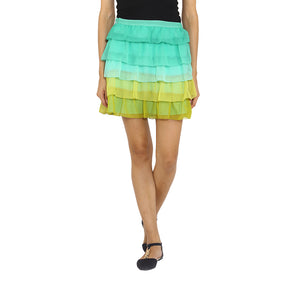 Five Layer Frilly Skirt