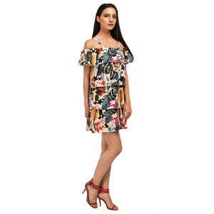 Multi Layer Abstract Dress