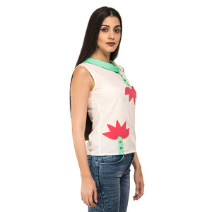 Lotus Patch Shirt