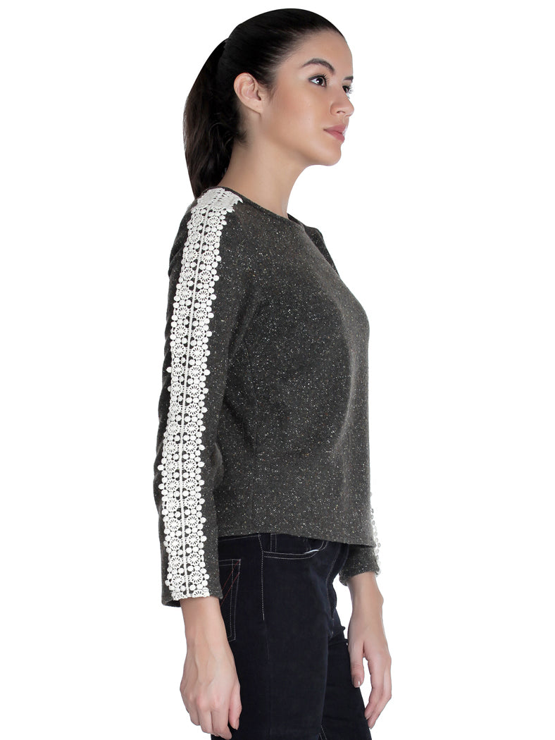Lacy Pullover