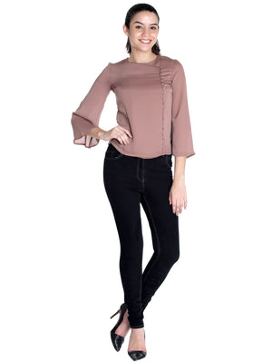 Wrap Up Bell Sleeves Top