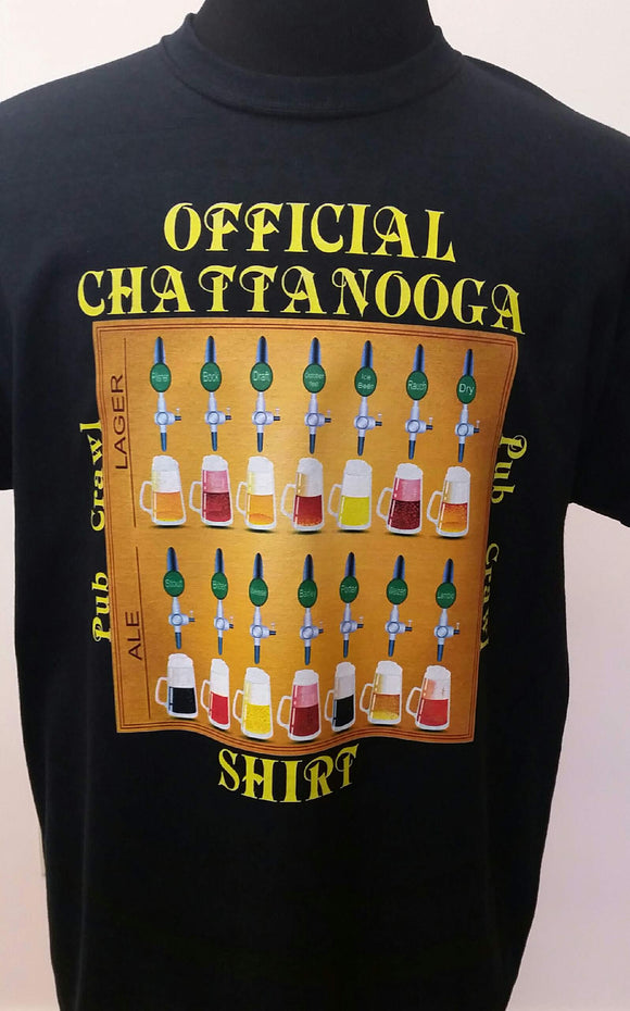 Official Chattanooga Pub Crawl Shirt T - nooga-T booga-T