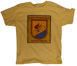 Bicycle Stamp Chattanooga Tennessee - nooga-T booga-T