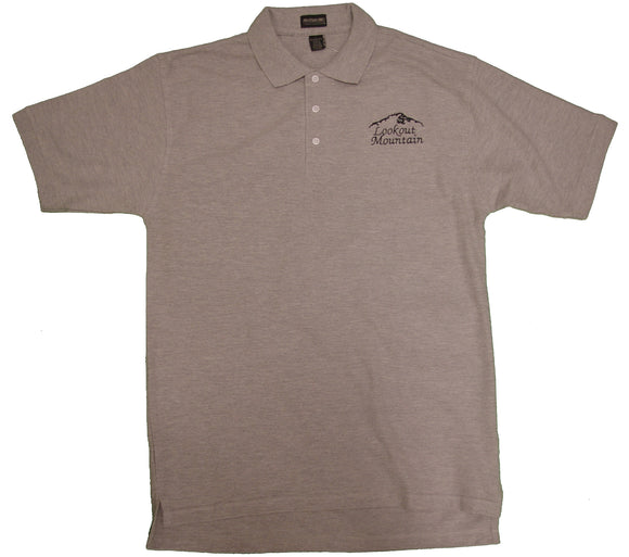 Lookout Mountain Polo Embroidered Shirt - nooga-T booga-T