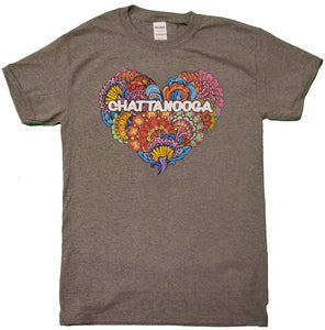 Flowering Heart with Chattanooga - nooga-T booga-T