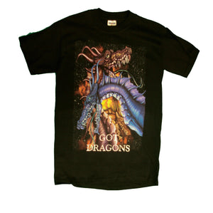 Got Dragons short sleeve T-shirt - nooga-T booga-T