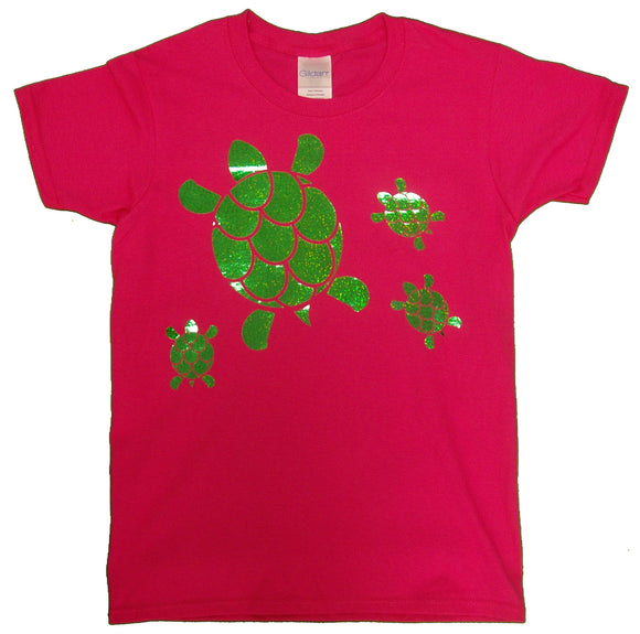 Holographic Green Turtles - nooga-T booga-T
