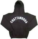 Hoodie Sweatshirt with Curved Chattanooga - nooga-T booga-T