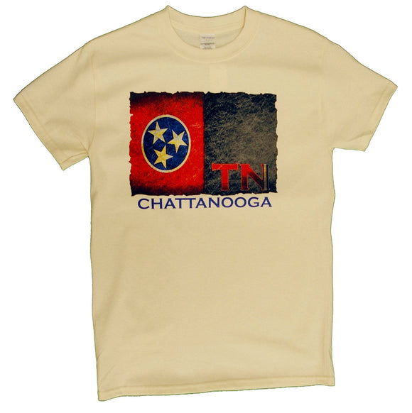Tennessee Flag with Chattanooga - nooga-T booga-T