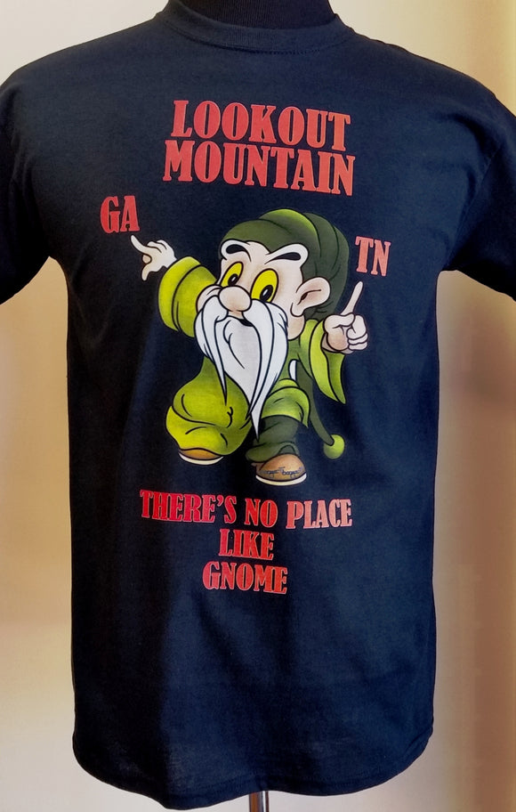 Lookout Mountain Gnome short sleeve T-shirt - nooga-T booga-T