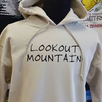 Hoodie Sweatshirt Lookout Mountain on Sand - nooga-T booga-T