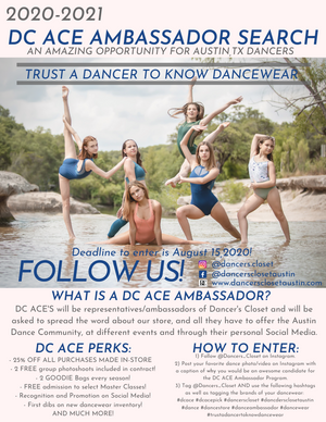 DC ACE Ambassador Search 2020-2021!