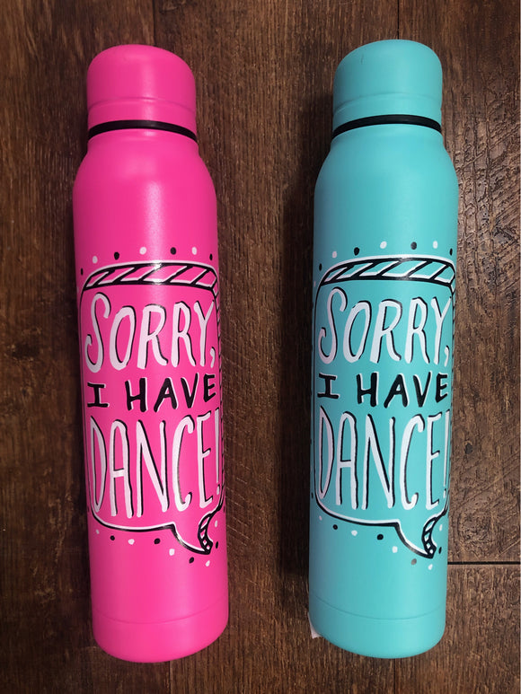 Sorry, I Have Dance Bottle