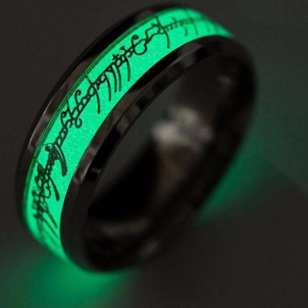Glowing Elven Ring