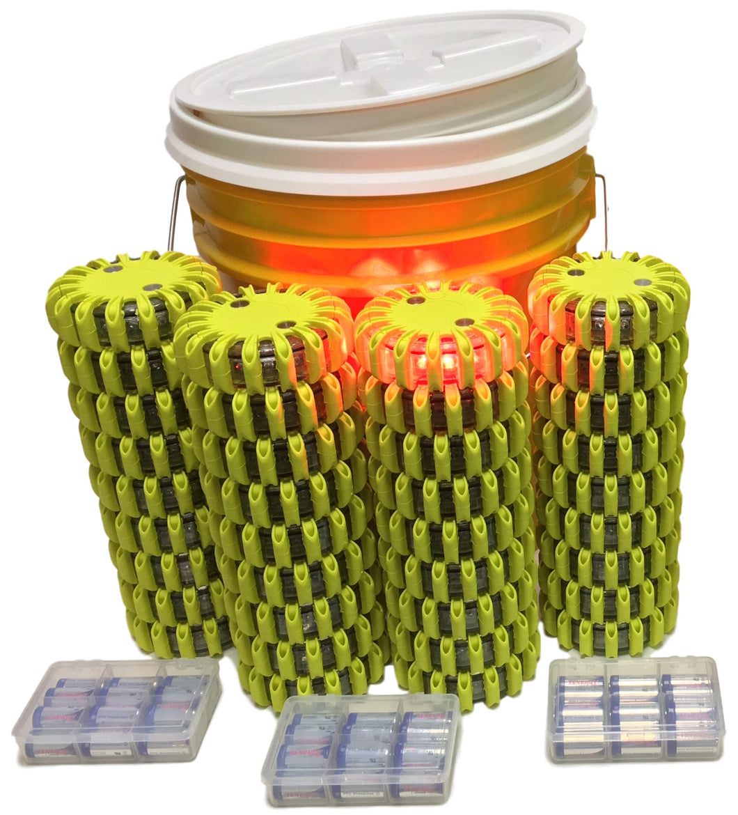 36-Pack Bucket with easy-twist on/off lid