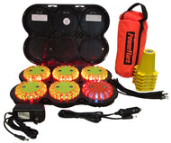 Cone Kit with Rechargeable 6-Pack Landing Zone Kit