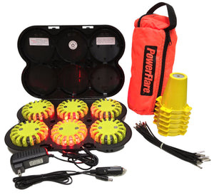 Cone Kit with Rechargeable 6-Pack System