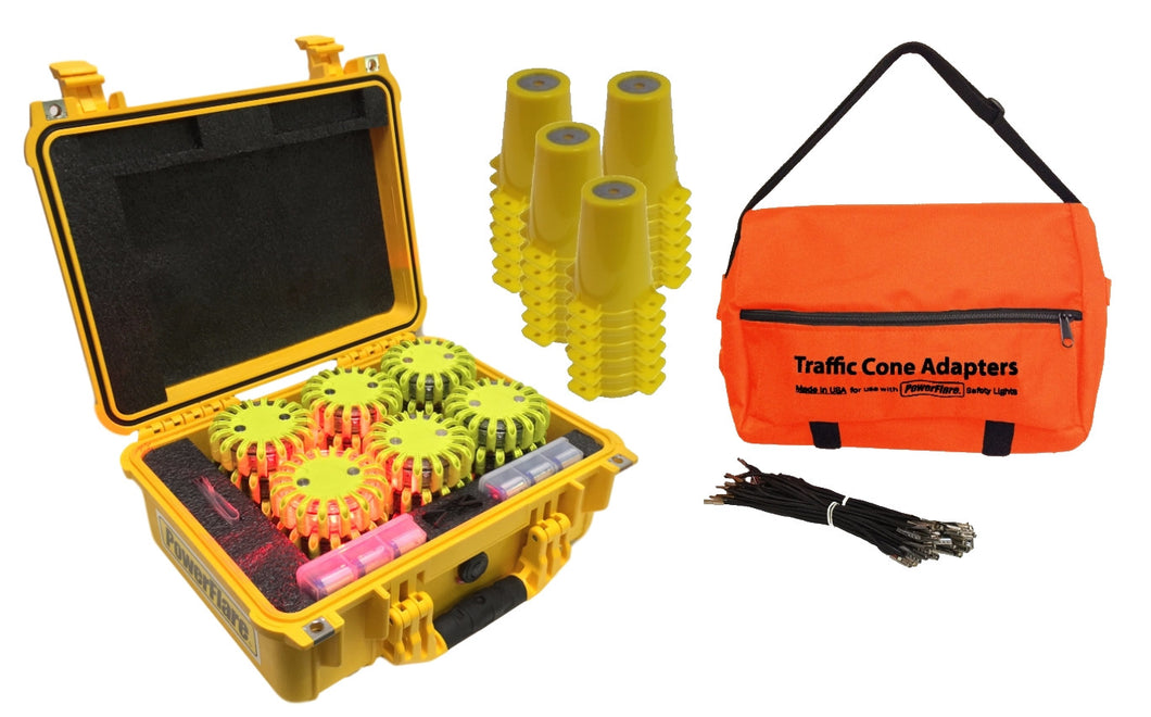 Cone Kit with Hard Case 24