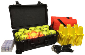 Cone Kit with Hard Case 60