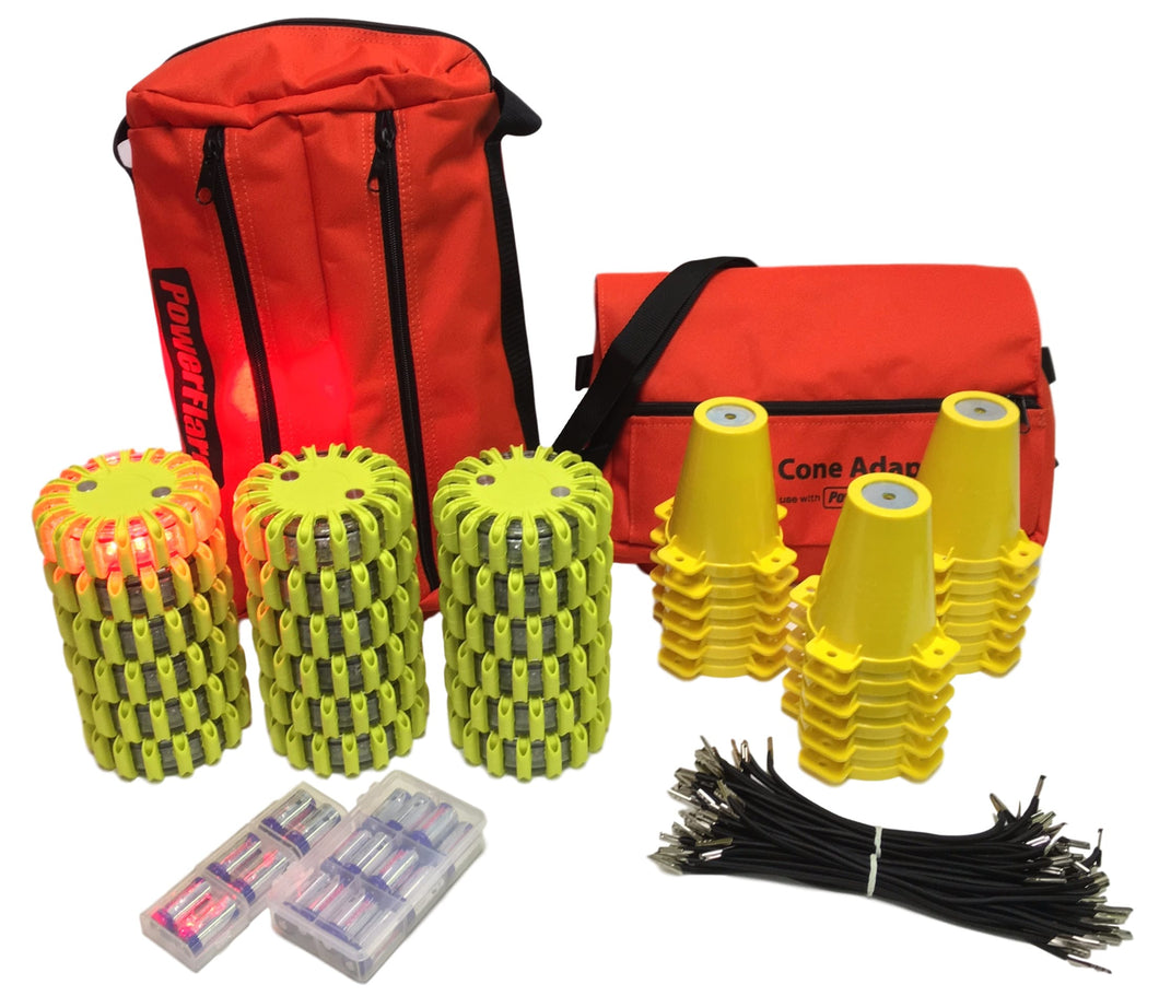 Cone Kit with 18 PowerFlare Soft Pack