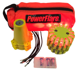 Cone Kit with 3 PowerFlare Soft Pack
