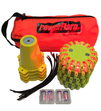 Cone Kit with 4 PowerFlare Soft Pack