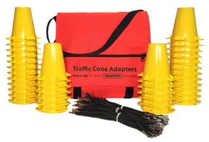 36-pack Traffic Cone Adapter