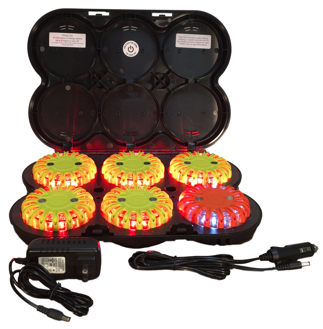 Rechargeable 6-Pack Landing Zone Kit