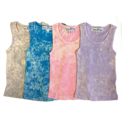 Sweet As Sugar Couture Baby Grey Tie-Dye Tank